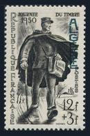 Algeria B58,lightly Hinged.Michel 293. Stamp Day 1950.Postman. - Algeria (1924-1962)