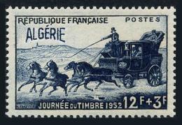 Algeria B64,MNH.Michel 298. Stamp Day 1952.Stagecoach Of 1844. - Algeria (1924-1962)