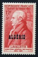 Algeria B71,MNH.Michel 320. Stamp Day 1954.Count Antoine De La Vallete. - Algeria (1924-1962)