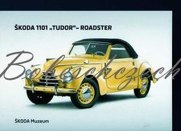 8-1181 CZECH REPUBLIC Cca 2010 - Oldtimer Skoda 1101 Tudor (1946–1952) Roadster - 2-door Roadster  Skoda Muzeum - Voitures De Tourisme
