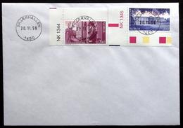 Norway   1998    FDC   MiNr.1295-96  ( Lot 6458 )   SKJÆRHALLEN - FDC
