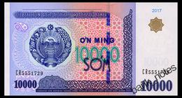 UZBEKISTAN 10000 SUM 2017 Pick 84 Unc - Uzbekistan