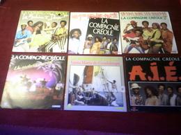 LA  COMPAGNIE  CREOLE  ° COLLECTION DE 15 / 45 TOURS DIFFERENTS - Collections Complètes