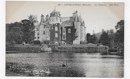 TOURLAVILLE - N° 149 - LE CHATEAU - CPA NON VOYAGEE - France