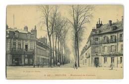 CPA 03 MOULINS BOULEVARD DE COURTAIS PAQUET N°43 - Moulins