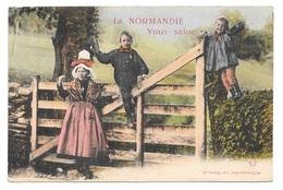 (21246-14) La Normandie Vous Salue - Non Classés