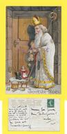 CPA SAINT NICOLAS - St Niklaas - St Nicolaas - Enfant - Jouet - Père Fouettard ( Carte EMBOSSEE - GAUFREE  ) - Saint-Nicolas