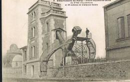 CPA OBSERVATOIRE  De PARIS - Grand Equatorial Soudé ...-  Beau Plan - Paypal Sans Frais - Astronomie