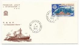 TAAF - Enveloppe FDC - Le Commandant Charcot - Port Aux Français Kerguelen - 1.1.1976 - FDC