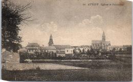 Belgique - Luxembourg - ATTERT - L'église Et Le Pensionnat - Attert