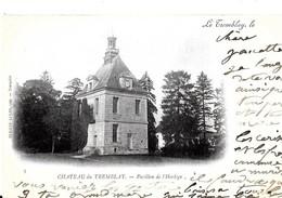Le Tremblay. Le Pavillon De L'horloge Au Chateau Du Tremblay. - Frankreich