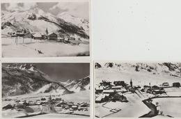 18/1/40  - LOT  DEDos  -  Divisé   Simple Circulé   -  Oui   Non Année   - Edition    CPSM  DE  TIGNES  SOUS  LA  NEIGE - Postcards