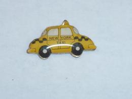 Pin's TAXI JAUNE, NEW YORK CITY  01 - Villes