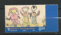 Bosnia And Herzegovina -  2003 Week Of Childhood. MNH - Bosnie-Herzegovine