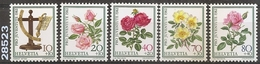 1982 - YT 1165 à 1169 ** - VC: 5.00 Eur. - Nuovi