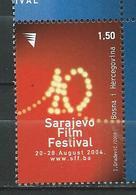 Bosnia And Herzegovina - 2004 Cinema - The 10th Sarajevo Film Festival. MNH - Bosnie-Herzegovine