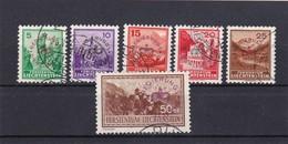 Liechtenstein, Dienst Nr.11-15a, 17, Gest. Mi. 142,- Euro (T 8391) - Official