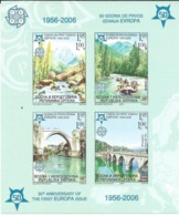 Serbian Republic/Bosnia And Herzegovina/ 2005 The 50th Anniversary Of The First EUROPA Stamps, 1956-2006. S/S.MNH - Bosnien-Herzegowina