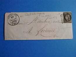 FRANCE COLLECTION + 100 LETTRES CLASSIQUES DONT RARES/ EXCEPTIONNEL SUR LE SITE - 1849-1876: Période Classique