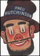 CARTON    PNEU   HUTCHINSON - Vieux Papiers