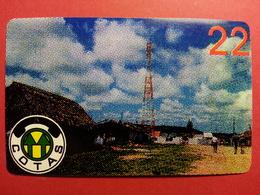 BOLIVIA COTAS 22u Antenna With BWA On Reverse Daruma URMET FIELD TRIAL TEST BOLIVIE (CD0718) - Bolivie