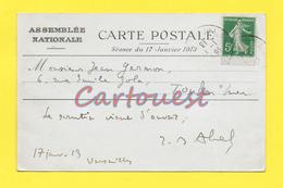Assemblée Nationale Scéance Du 17 Janvier 1913 Poincarré Est élu Président ( Ouverture Du SCRUTIN ) - Events