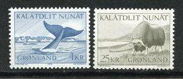 Groenland, Yvert 62&63, Scott 71&75, MNH - Groenland