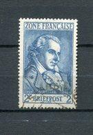 All,Besetz, F.zone Mi 12 Gest #3192 - Zone Française