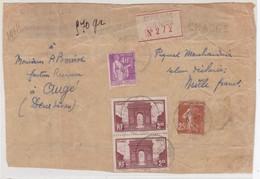 Devant De Colis : SAINT-PIERRE-des-NIDS /  6.7.34 - Marcophilie (Lettres)