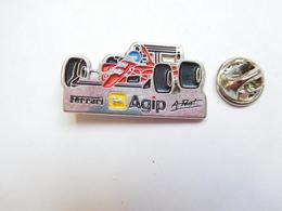 Beau Pin's , Auto Ferrari , F1 , Alain Prost , Carburant Essence Agip - Ferrari