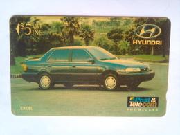 3FJC $5 Hyundai - Fiji