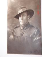 C.P.A.- Carte Photo.- Soldat Australien C.B.M. - 1919 - SUP (AZ 55) - Characters