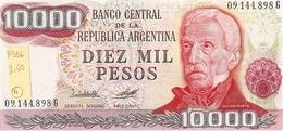 Argentina  P-306  10000 Pesos  1976-83  UNC - Argentina