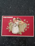 Beautifull Girl And Boy  Illustrator Unknown // Un Rendez Vous   // Used 1906 Raphael Tuck & Fils - Illustratoren & Fotografen