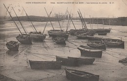 22 - SAINT JACUT DE LA MER - Les Bateaux De Pêche - Saint-Jacut-de-la-Mer