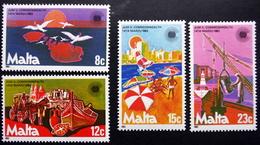 MALTA  1983    MiNr.676-79  MNH (**) ( Lot  F 28) - Malta