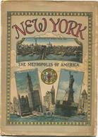 New York The Metropolis Of America 20er Jahre - 20 Seiten Mit 40 Abbildungen In Postkartengrösse - Text Englisch - Exploration/Travel