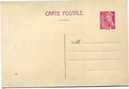 FRANCE ENTIER POSTAL NEUF DU 70 C. LILAS-ROSE TYPE MERCURE (N°416) - Standard Postcards & Stamped On Demand (before 1995)
