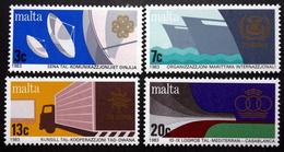 MALTA  1983   MiNr.682-85    MNH (**) ( Lot  F 34  ) - Malta