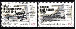 Christmas Island 1995 Mi.nr.:411-412 Beendigung Des.....  Oblitérés / Used / Gestempeld - Christmas Island
