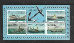 South Africa 1994, Tugboats, Miniature Sheet, MNH ** - Unused Stamps