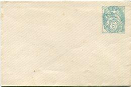 FRANCE ENTIER POSTAL NEUF DU 5 C. VERT TYPE BLANC (N°111) - Postal Stamped Stationery