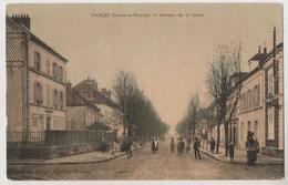 CPA 77 NANGIS Avenue De La Gare - Nangis