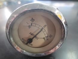 Ancien Compteur Amperes Motometer - Motos