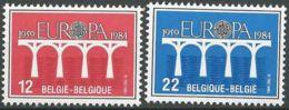 BELGIEN 1984 Mi-Nr. 2182/83 ** MNH - CEPT - Europa-CEPT