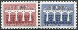 FÄRÖER 1984 Mi-Nr. 97/98 ** MNH - CEPT - Europa-CEPT