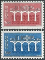 FRANKREICH 1984 Mi-Nr. 2441/42 ** MNH - CEPT - Europa-CEPT