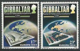 GIBRALTAR 1984 Mi-Nr. 475/76 ** MNH - CEPT - Europa-CEPT