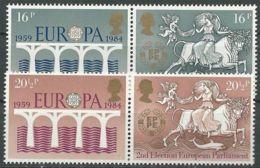 GROSSBRITANNIEN 1984 Mi-Nr. 988/91 ** MNH - CEPT - Europa-CEPT