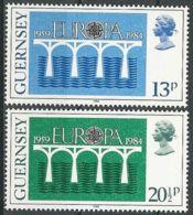 GUERNSEY 1984 Mi-Nr. 286/87 ** MNH - CEPT - 1984